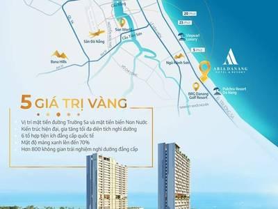 2,6 tỷ  căn hộ nghỉ dưỡng 5   full nội thất   Aria Đà Nẵng,...