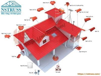 Nhà mái ngói truyền thống, Nhận thi công mái nhà trọn gói 0