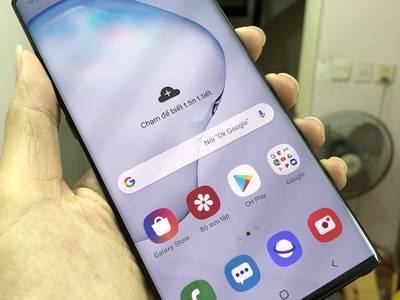 Galaxy Note 10 Plus Aura Black hàng Samsung VN chính hãng Fullbox BH 08/2020 Likenew giá tốt 2