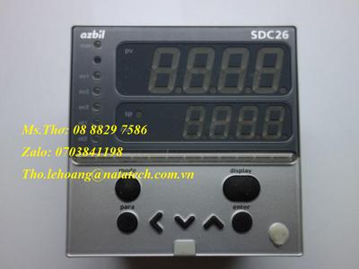 Bộ điều khiển Azbil C26TC0UA1200 - Công Ty TNHH Natatech 1
