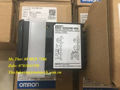 Bộ điều khiển nhiệt độ Omron E5CC-QX2DSM-800 5