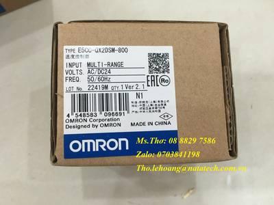 Bộ điều khiển nhiệt độ Omron E5CC-QX2DSM-800 9