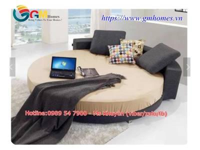 Giường tròn sành điệu, lãng mạn cho khách sạn Đà Nẵng, Nha Trang 2