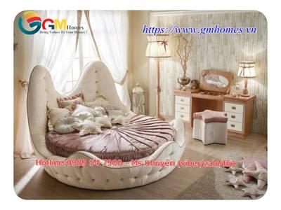 Giường tròn sành điệu, lãng mạn cho khách sạn Đà Nẵng, Nha Trang 15