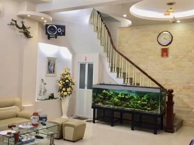 Bán nhà 4 tầng thiết kế đẹp phố Phan Phù Tiên, Cát Linh, Đống Đa 70m2 giá 6 tỷ 0