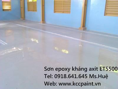 Tự phẳng sơn EPOXY kcc GREY Unipoxy Lining kháng axit giá rẻ 0918641645 Huệ 1