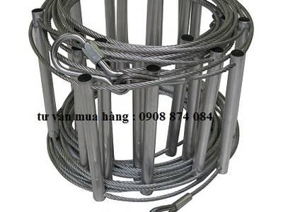 Thang dây thoát hiểm/ Thang dây cuốn/ Thang dây PCCC 10 mét,20 mét 0