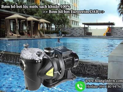 Bơm hồ bơi lọc nước sạch khuẩn 100 - Bơm hồ bơi Euroswim DAB 0