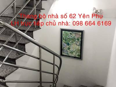 Chủ nhà cho thuê Từ 40-140m2 VP tại đường Yên Phụ. Giá 186.000đ/m2. LH 098 664 6169 11