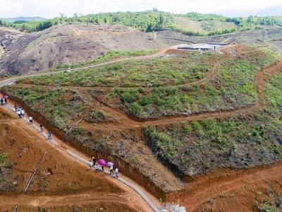 Trọn gói 600 Triệu sở hữu sổ hồng riêng  4,000m2 đất  và 1 vườn sầu riêng Musanking 3
