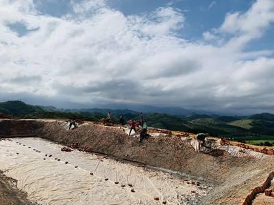 Trọn gói 600 Triệu sở hữu sổ hồng riêng  4,000m2 đất  và 1 vườn sầu riêng Musanking 8