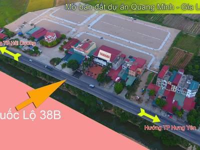 Chính chủ bán lô đất siêu đẹp dự án đất nền Quang Minh-Gia Lộc.Giá 13 0
