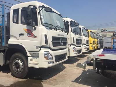 Xe tải Dongfeng Hoàng Huy B180 tải 9 tấn thùng dài 7.5 mét 0