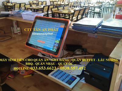 Máy tính tiền Pos cho quán ăn, quán nhậu tại Bình Phước 0