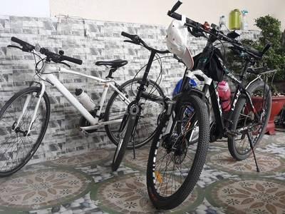 Xe đạp touring louis garneau canada al 6061 bền 0