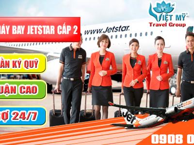 Làm đại lý hãng Jetstar cần bao nhiêu tiền 0
