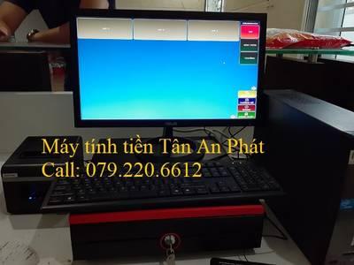 Máy tính tiền dùng cho quán ăn tại Uông Bí- Quảng Ninh 2
