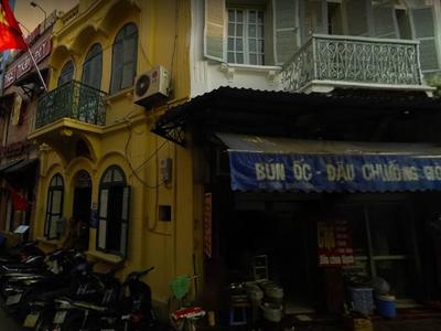 Cho thuê nhà mặt phố Trương Hán Siêu 150m2 mặt tiền 5.5m 2