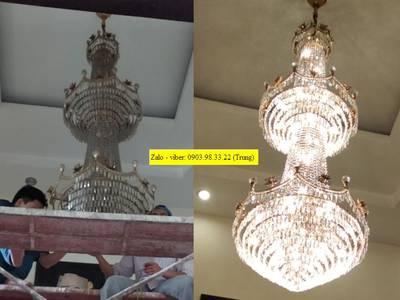 Chuyên sửa chữa đèn chùm, đèn mâm led hiện đại, vệ sinh đèn trang trí, rửa đèn chùm tại TP HCM 6