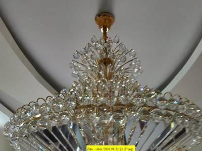 Chuyên sửa chữa đèn chùm, đèn mâm led hiện đại, vệ sinh đèn trang trí, rửa đèn chùm tại TP HCM 5