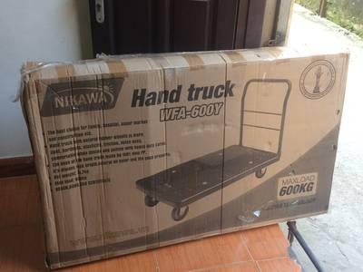 Xe đẩy hàng Nikawa WFA-600Y-LS tải trọng 600kg lưới bao giá tốt 1