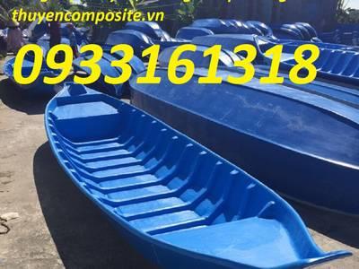 Thuyền, xuồng composite, thuyền tam bản, thuyền ba lá giá rẻ 0
