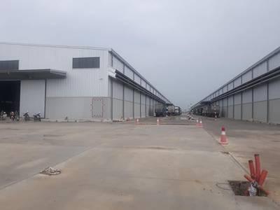 Cho thuê kho xưởng gần KCN Tràng Duệ, có cẩu giàn 10 tấn, trạm điện riêng 250KVA 3