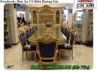 Đỉnh cao sang chảnh của bộ bàn ăn 10 ghế tân cổ điển siêu đẹp 2