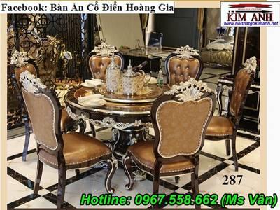 Đỉnh cao sang chảnh của bộ bàn ăn 10 ghế tân cổ điển siêu đẹp 7