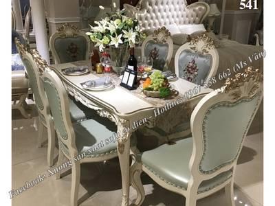 Đỉnh cao sang chảnh của bộ bàn ăn 10 ghế tân cổ điển siêu đẹp 17