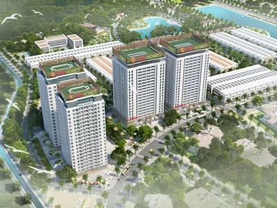 Sắp ra mắt tòa Lotus 2 dự án chung cư Green City Bắc Giang 1