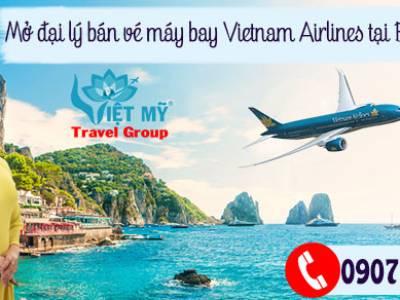 Mở đại lý bán vé máy bay Vietnam Airlines tại Bình Dương 0