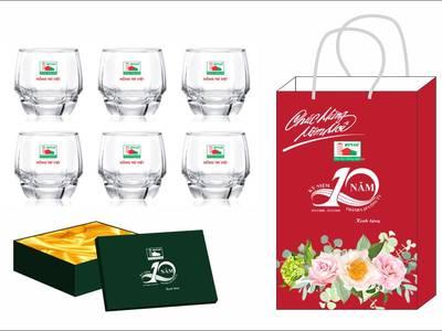 Ly thủy tinh,quà tặng marketing tại Quảng Nam,chi phí giá rẻ 6