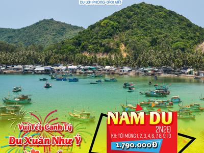 Tour đảo Nam Du 2N2Đ Tết nguyên đán 2020 0