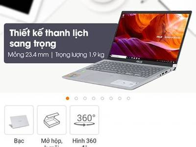 Bán Laptop Asus X509Fj 1