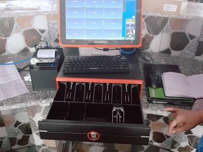 Trọn bộ máy cảm ứng tính tiền cho quán Cafe tại Nha Trang 0