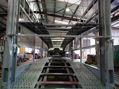 Xe tải faw 7.25 tấn 2019 thùng dài  9.7m  49 khối 2