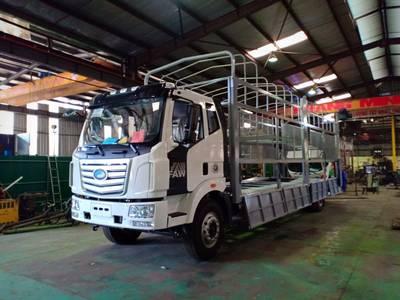 Xe tải faw 7.25 tấn 2019 thùng dài  9.7m  49 khối 3