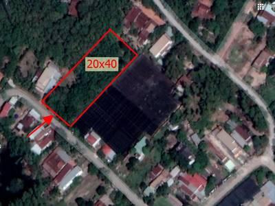 Bán đất mặt tiền đườngnhựa 6m lộ giới 12m giá 6,5 triệu/m thổ cư 100 1
