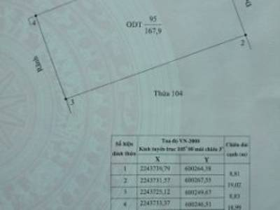 Chính chủ cần bán lô đất 2 mặt tiền Tại: Bình Hòa, Ninh Khánh, Ninh Bình 1