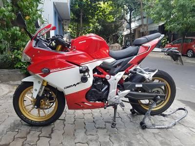 Bán nhanh moto gpx150. Đỏ trắng 0