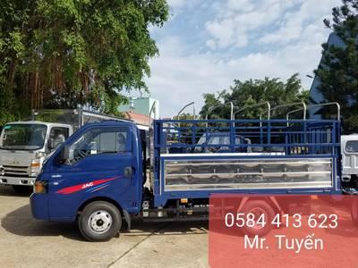 Bán xe tải Jac 1t5 Thùng Bạt - Khuyến Mại Trước bạ - Trả trước chỉ 60 Triệu Giao Xe ngay 3