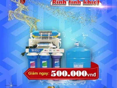 Giảm ngay 500k khi mua máy lọc nước OHIDO 0