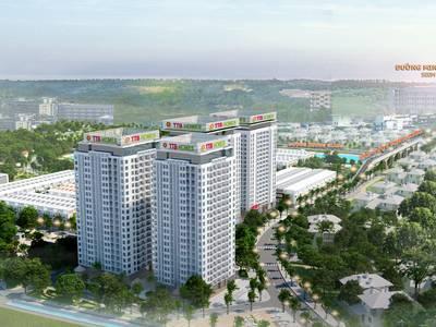 Trời ơi tin được không   chung cư Bắc Giang chỉ với 212 triệu sở hữu căn 2PN 1