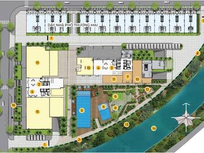 Căn hộ Mizuki Park 72m  2PN, 2WC Nguyễn Văn Linh, Bình Chánh 1
