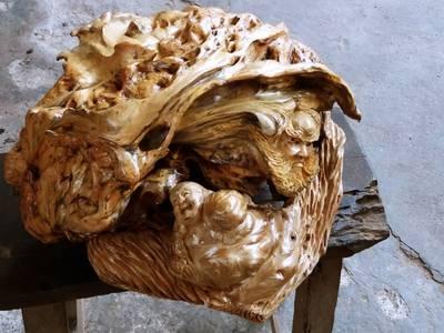 Cặp tàu lá chuối gỗ cẩm 7