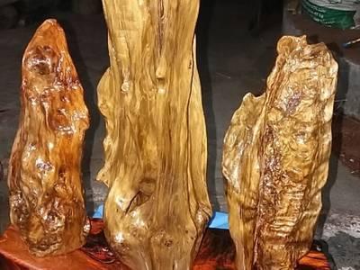Cặp tàu lá chuối gỗ cẩm 9