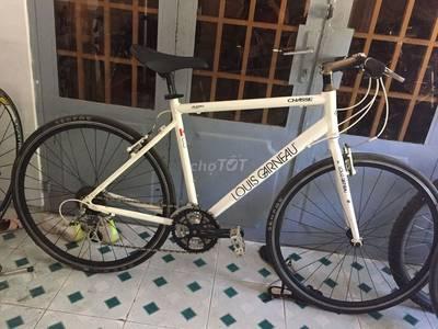Xe đạp touring luois garneau canada sơn zin 0