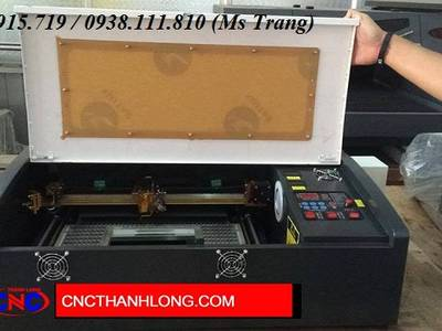 Máy laser mini 3020 khắc dấu 0