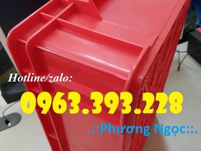 Thùng nhựa đặc B4, hộp nhựa chứa đồ, thùng nhựa đựng linh kiện 4